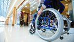 Cadeira de Rodas no shopping