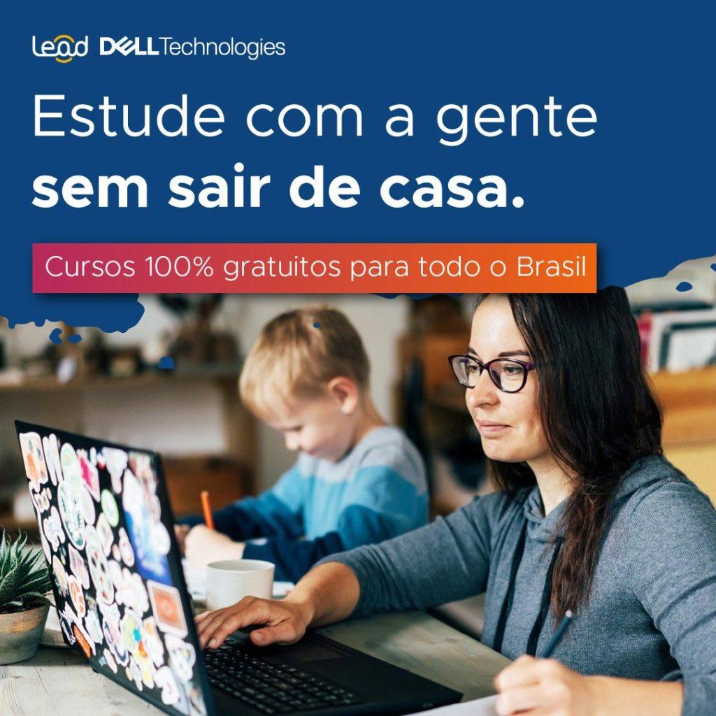 Estudar sem sair de Casa com a Lead Dell - divulgação