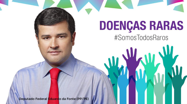 Jornalista Inclusivo - Foto do Dep. Fed. Eduardo da Fonte - PL do Fundo da Saúde