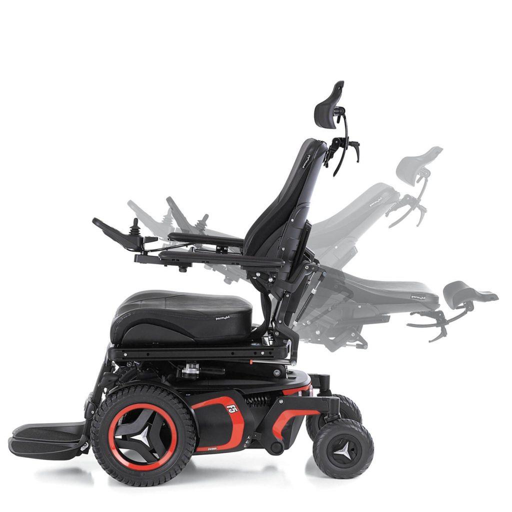Cadeiras de rodas reclináveis