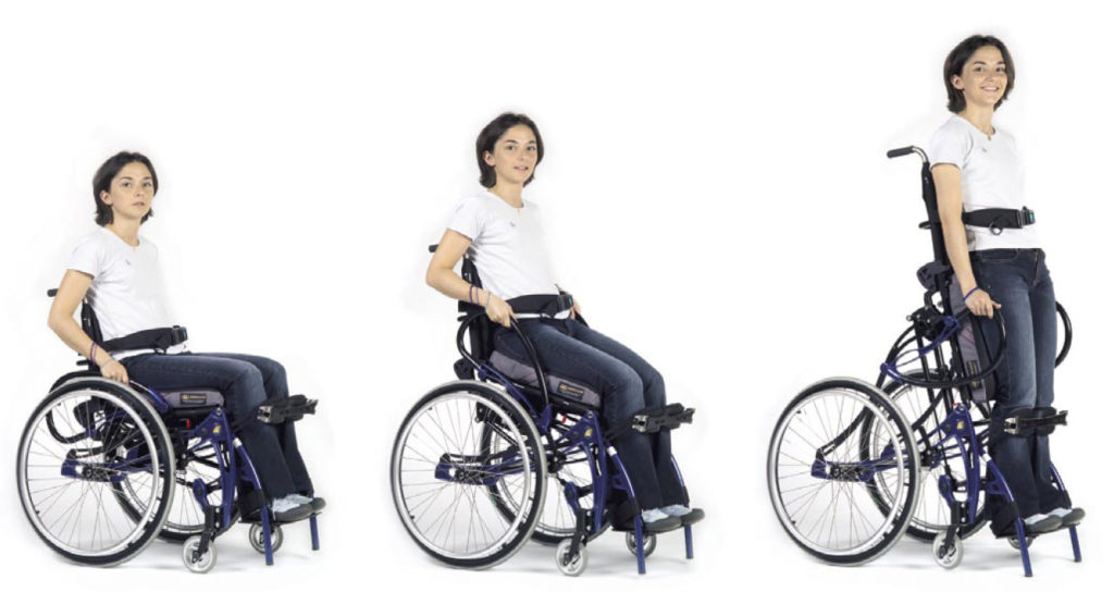 Cadeiras de rodas - variações