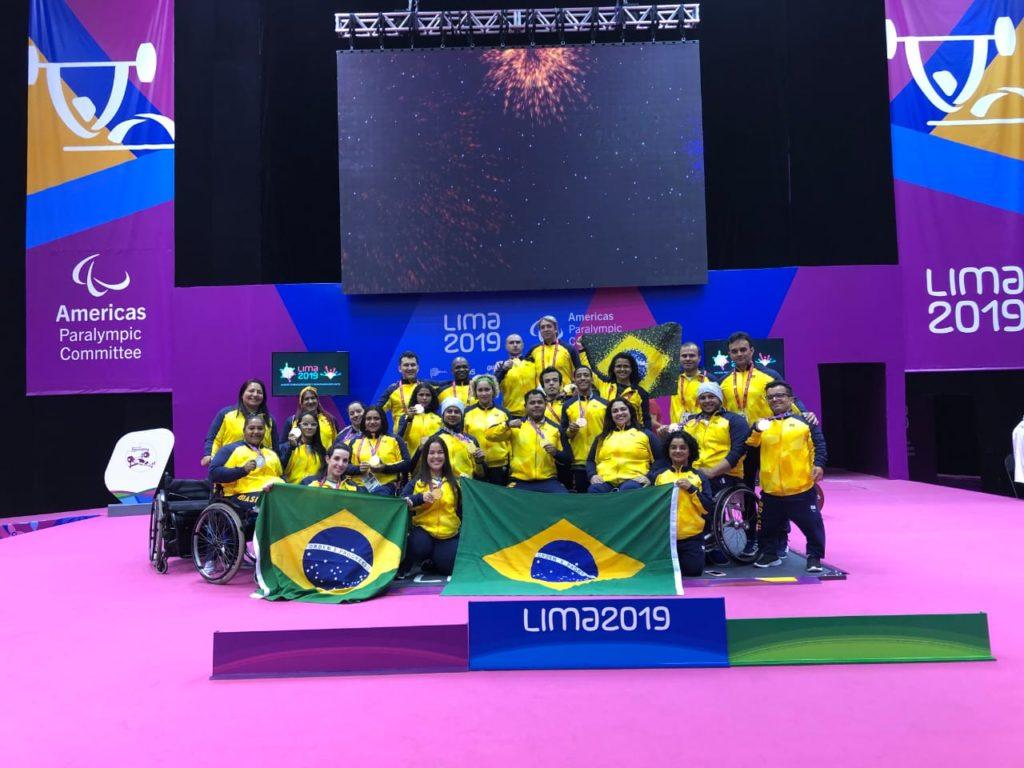 Equipe Halterofilismo Lima 2019 Valdecir
