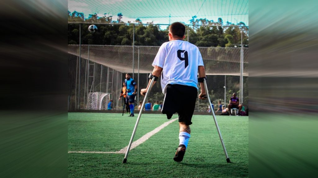 Rogerinho R9, O Astro do Futebol de Amputados