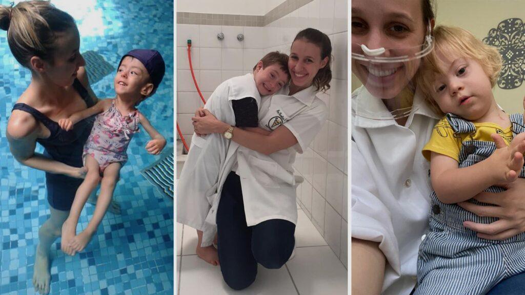 Três fotos ilustram a Carta aberta às Pessoas com Deficiência.