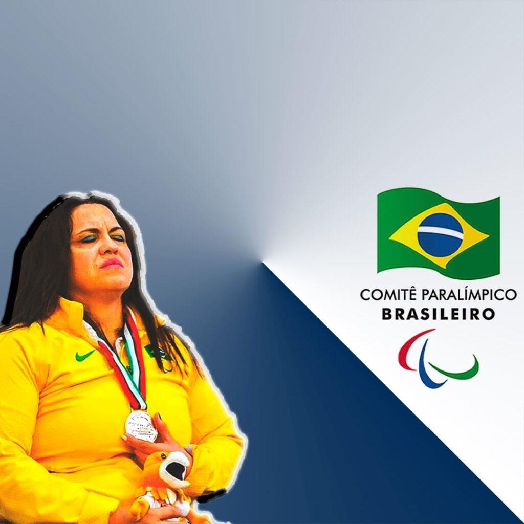 Márcia Menezes, Paratleta do Halterofilismo, para o Dia Nacional do Atleta Paralímpico 2020