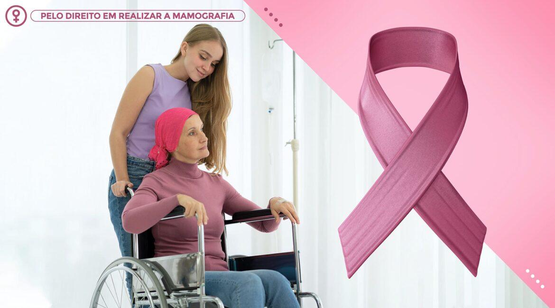 Outubro Rosa e a Mulher com deficiência