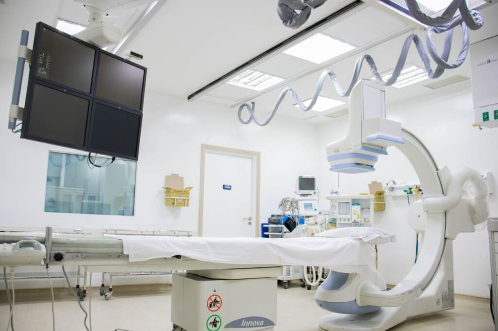 Sala de hemodinamica do HI
