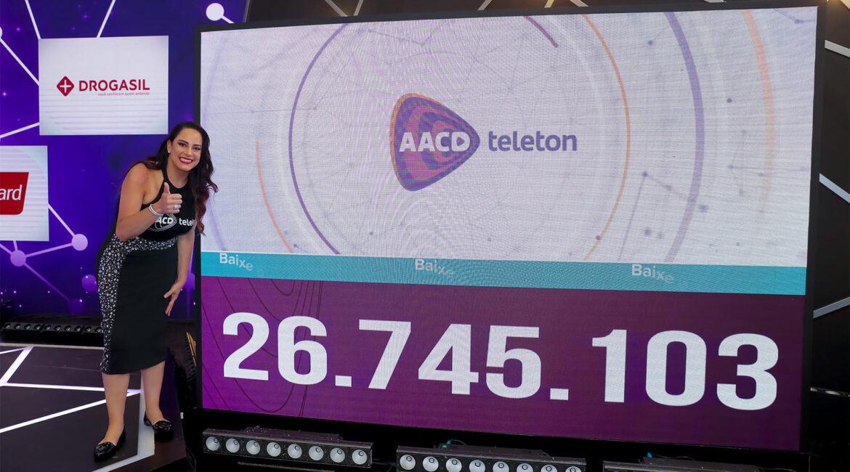 Foto da Silvia Abravanel no AACD Teleton 2020 segue até virada de ano
