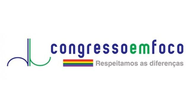 Logo do Congresso em Foco, para artigo Surdos nas Eleições 2020