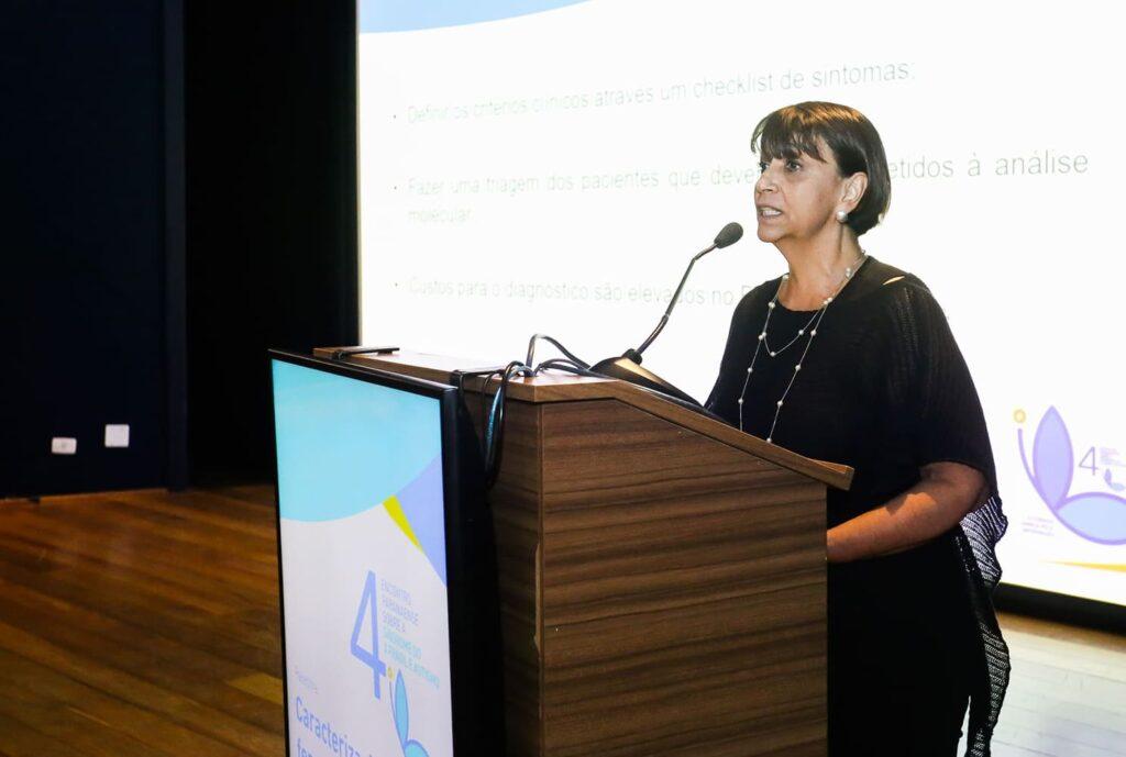 Luz María Romero, gestora do Projeto Eu Digo X (2019)