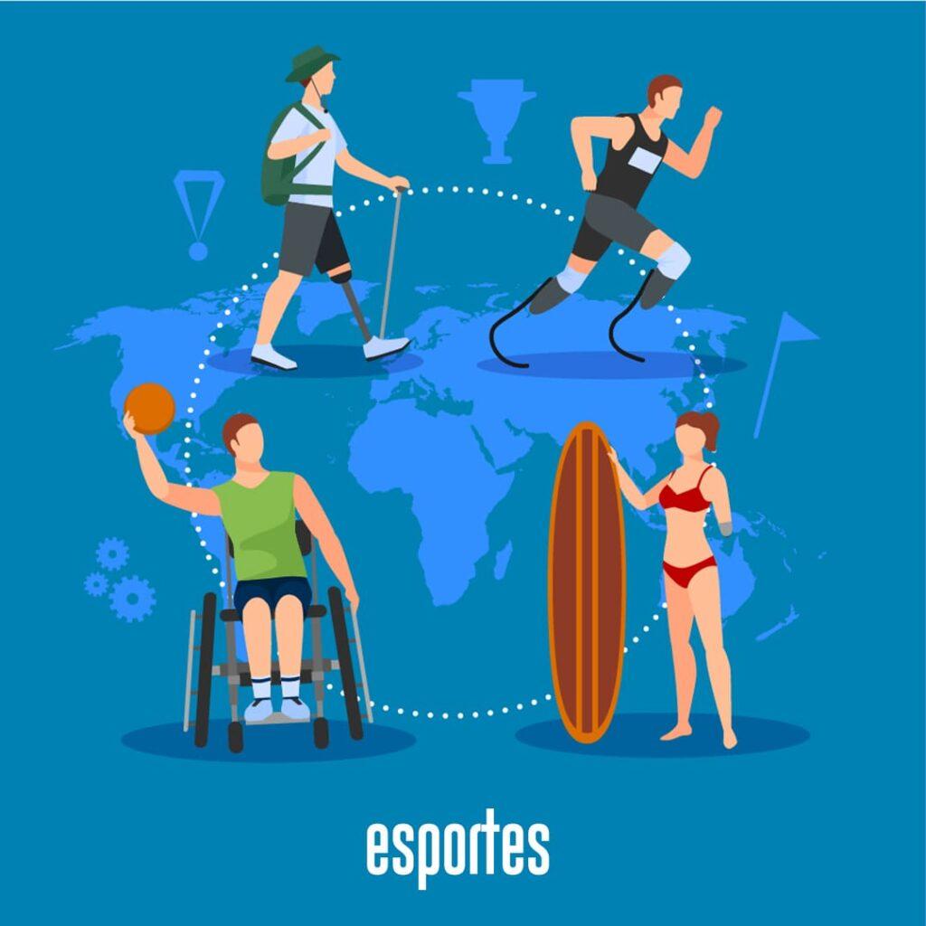 Esportes ilustrando Você conhece a CIF?