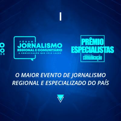 Evento de jornalismo especializado 2020 começa dia 1º de dezembro