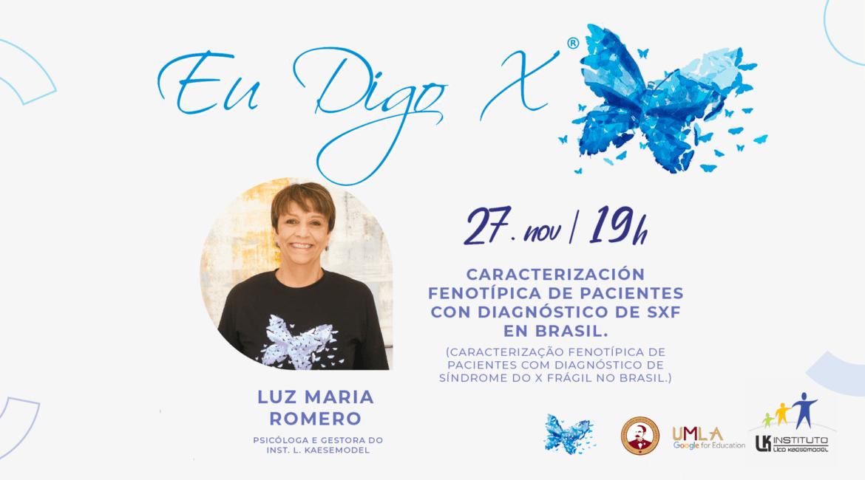 Banner de divulgação do Projeto Eu Digo X para Projeto Eu Digo X representa o Brasil em Congresso Internacional