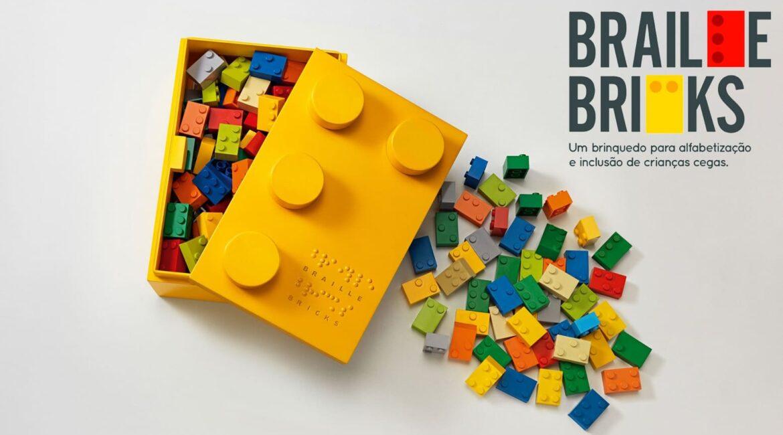 Imagem do brinquedo ilustra o texto LEGO Braille Bricks: Novidade às vésperas do Dia Mundial do Braile