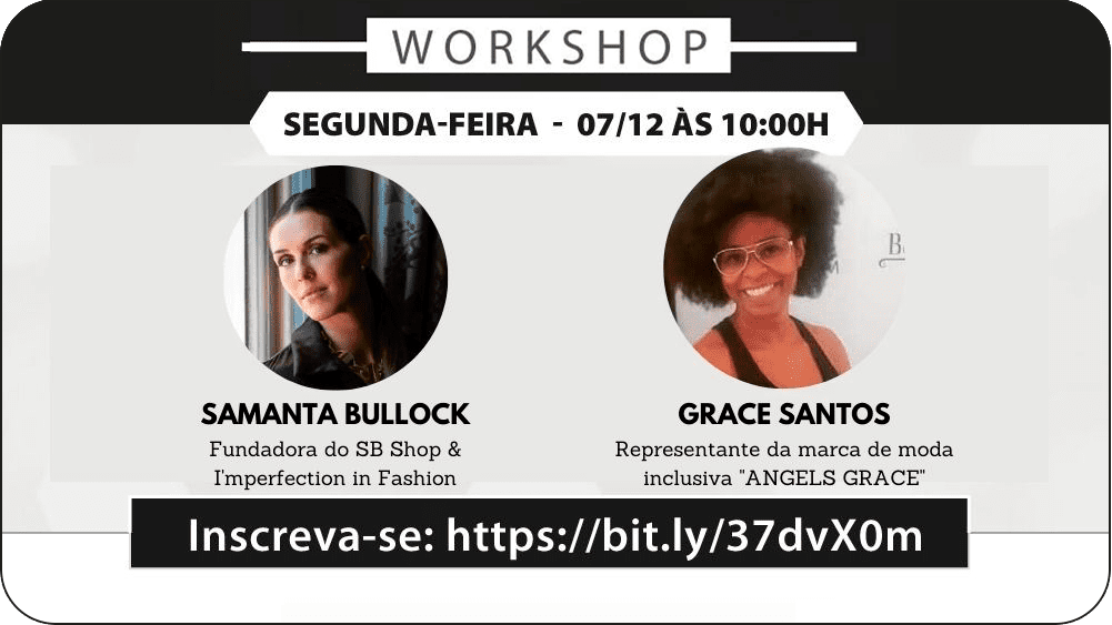Workshop de Moda Inclusiva em SP