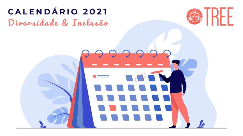 Calendário da diversidade 2021