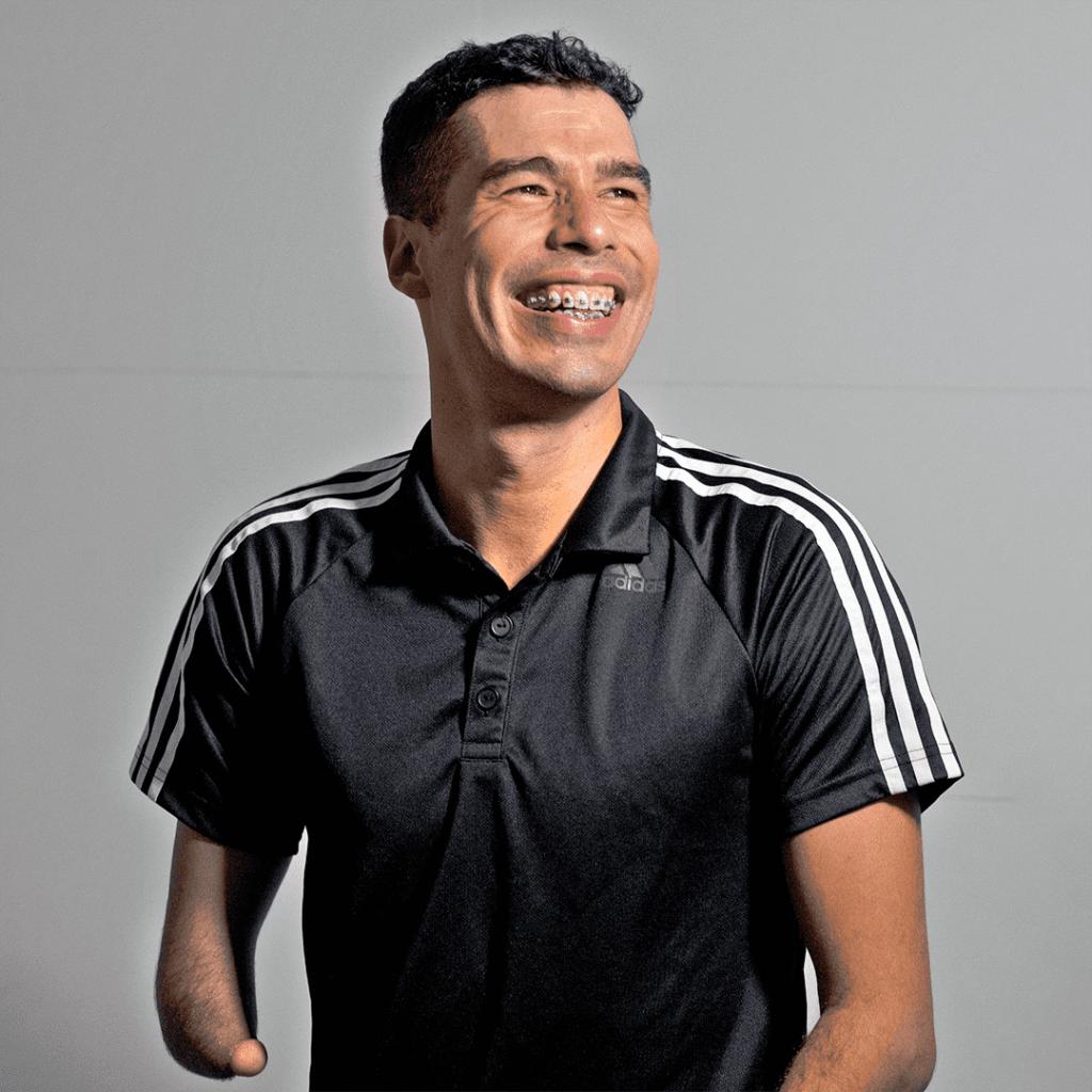 Foto do atleta para o artigo Além das águas com Daniel Dias, por Murilo Pereira