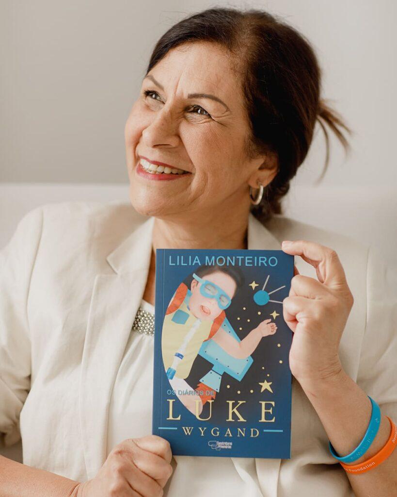 Foto da autora Lila Monteiro Os Diários de Luke Wygand: Sugestão de Leitura