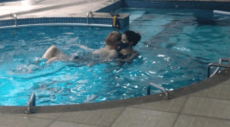 Murilo Paralisia Cerebral hidroterapia