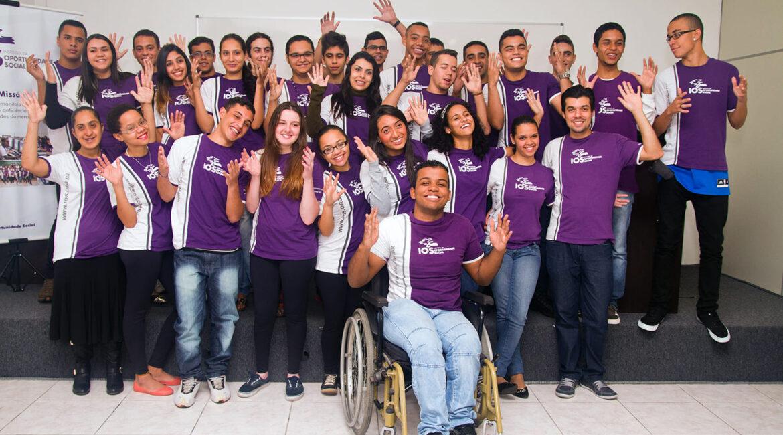 Alunos do Instituto da Oportunidade Social ilustra artigo IOS tem 1.762 vagas para PcDs em cursos gratuitos