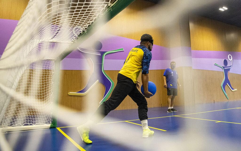 """Leomon ilustra artigo sobre Goalball, """"Enxergando seu valor"""""""