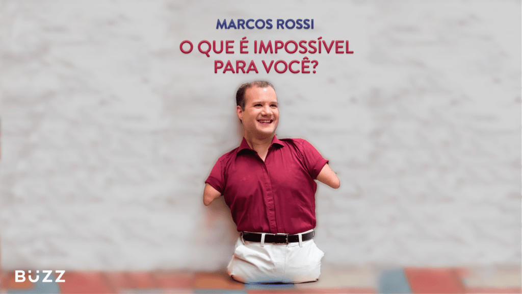 Capa do Livro O Que É Impossível Para Você? ilustra o texto Marco Rossi e o potencial humano
