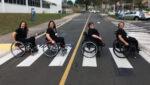 Quatro mulheres em cadeira de rodas ilustra artigo - Investimentos em inclusão aumentaram 78%