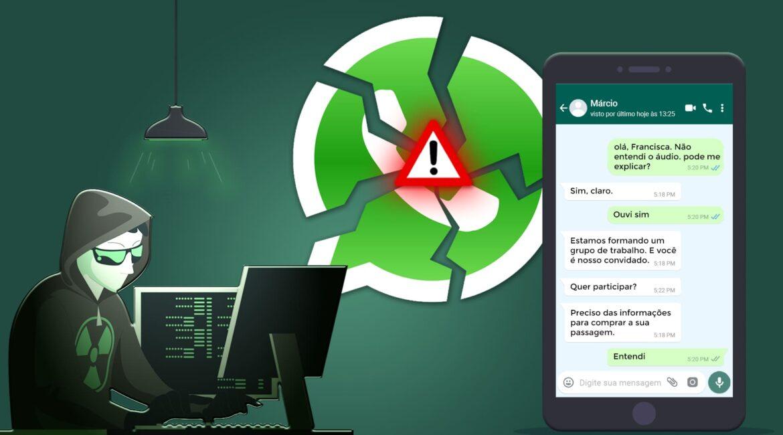 """Ilustração do texto """"Golpe no WhatsApp contra PcDs e ex-conselheiros do Conade: Ouça o áudio"""""""