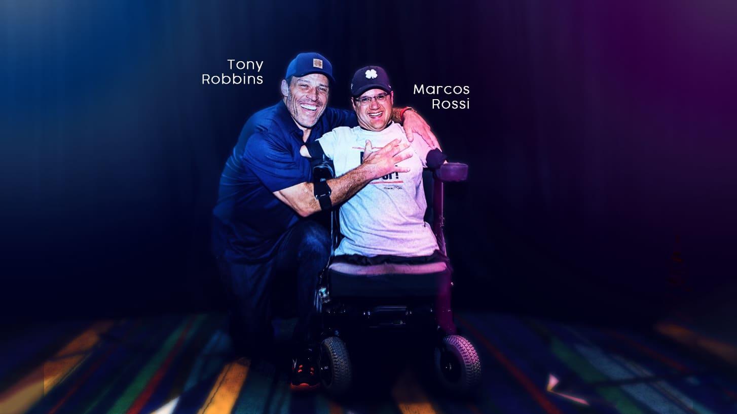 Tony Robbins e Marcos Rossi e o potencial humano