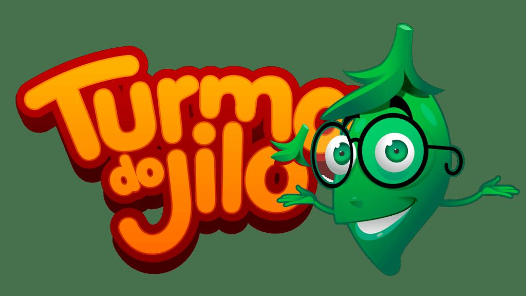 Logo colorido Turma do Jiló