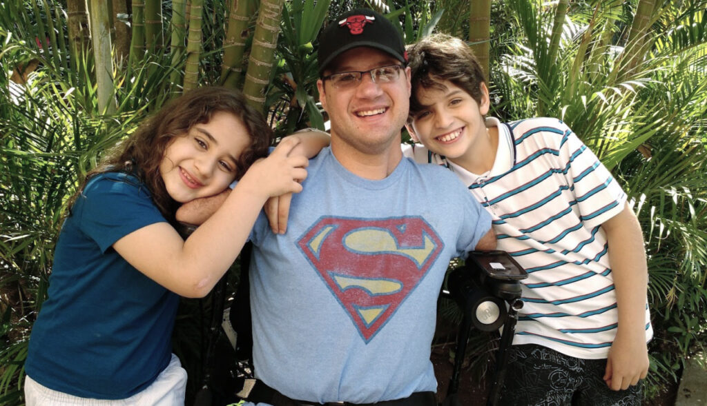 Pai e filhos, Marcos Rossi e o potencial humano