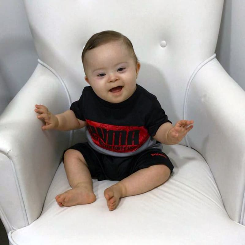 Miguel, bebê, a coragem de amar