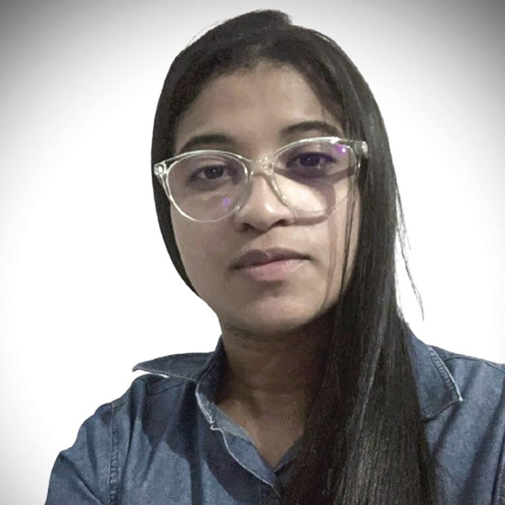 Desenvolvedora do app Abeille Libras, lançado no Dia Nacional de Libras 2021.