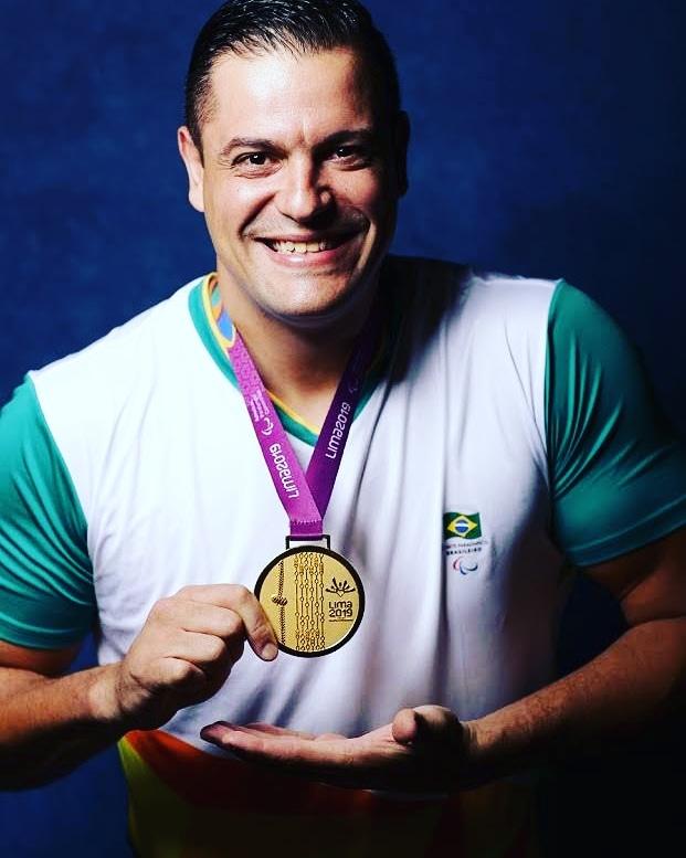 Leandro Santos, Jogos Parapanamericanos de Lima 2019.