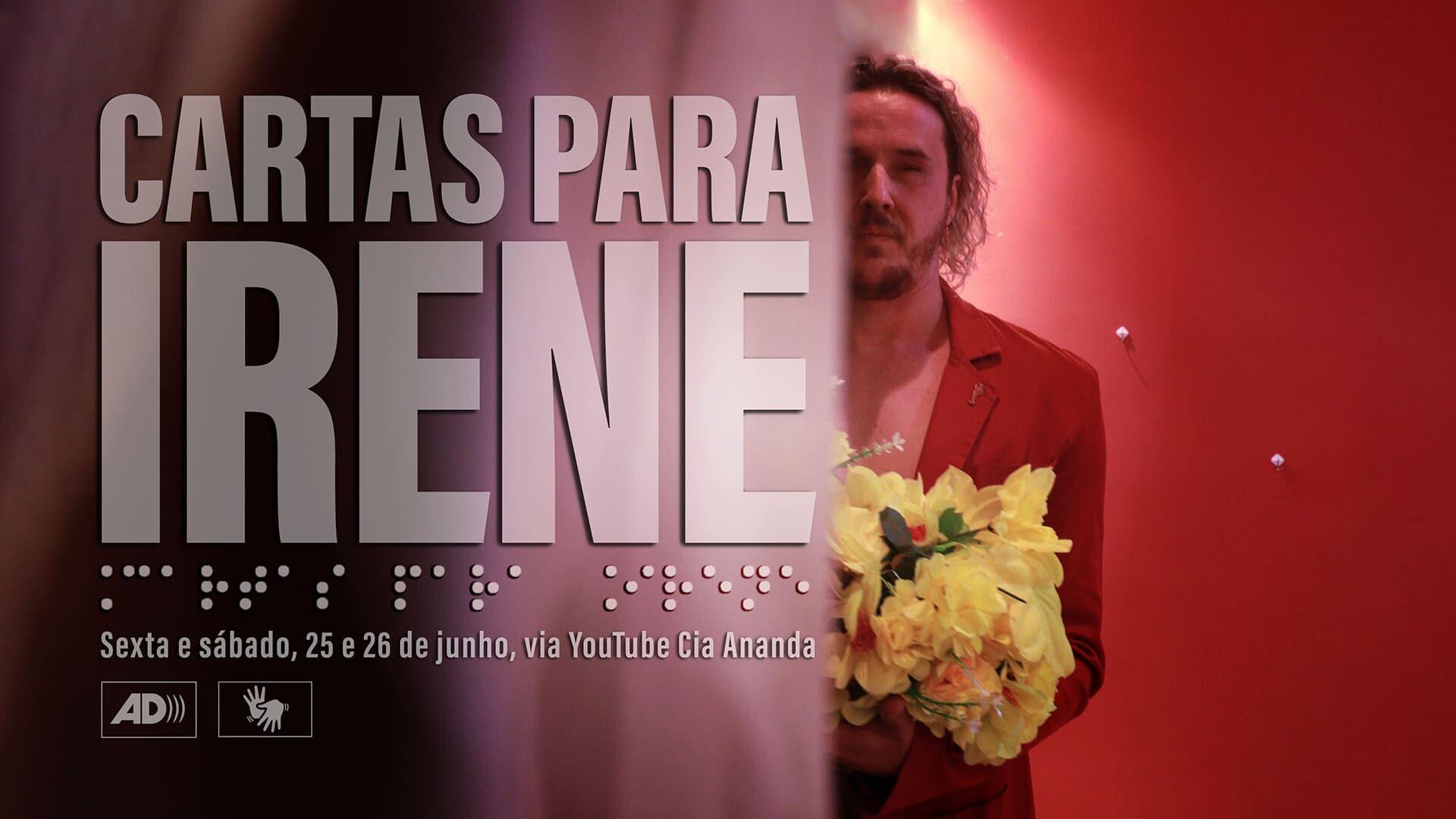 """Arte com foto e texto descritos na legenda do texto """"Artista cego reverencia a mãe nos palcos com dança e teatro""""."""