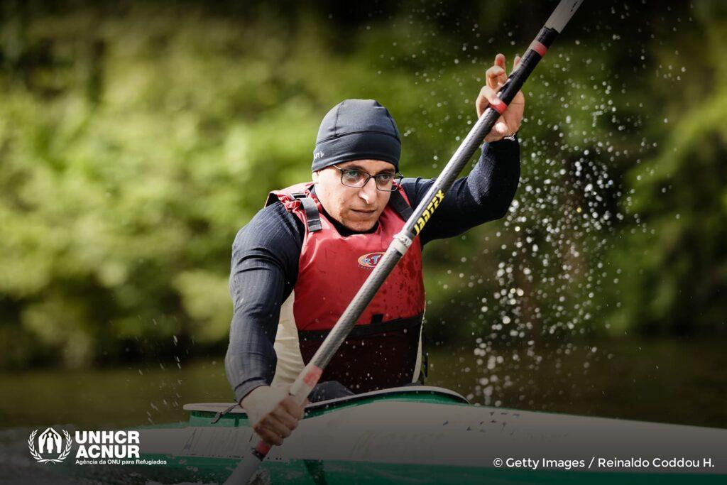 Anas Al Khalifa, paracanoagem, Equipe Paralímpica de Refugiados