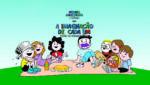 Ilustração em desenho da turma do Menino Maluquinho, com o título A Imaginação de Cada Um, segunda cartilha da ONG Nosso Olhar.