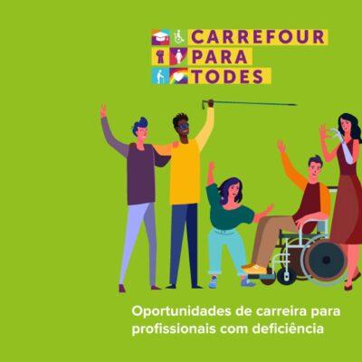 Carrefour contrata PcDs entre 26 e 30 de julho