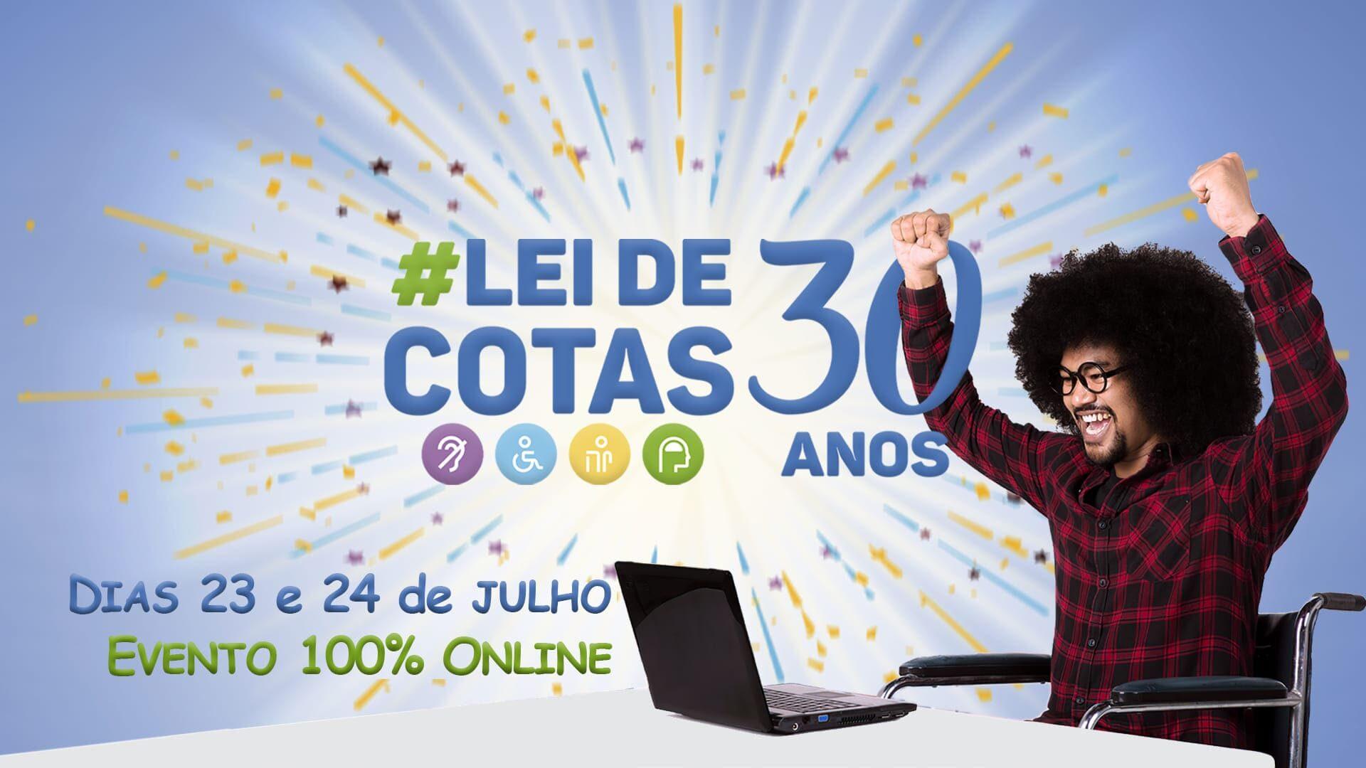 Evento online celebra os 30 anos da Lei de Cotas Jornalista Inclusivo