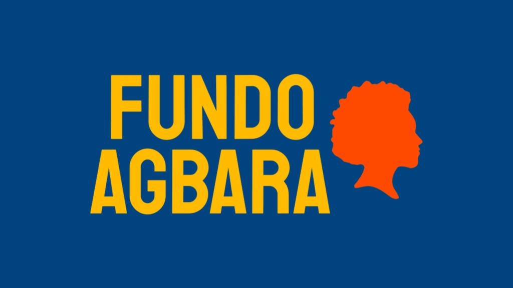 Imagem em fundo azul com o logo Fundo Agbara.
