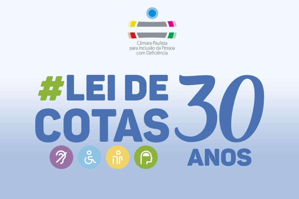 Logo Camara Paulista Lei de Cotas 30 anos
