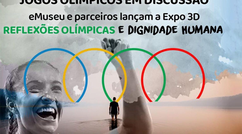 """Imagem de capa da matéria """"eMuseu inaugura exposição 3D sobre inclusão através do esporte"""", com foto e texto descritos na legenda."""