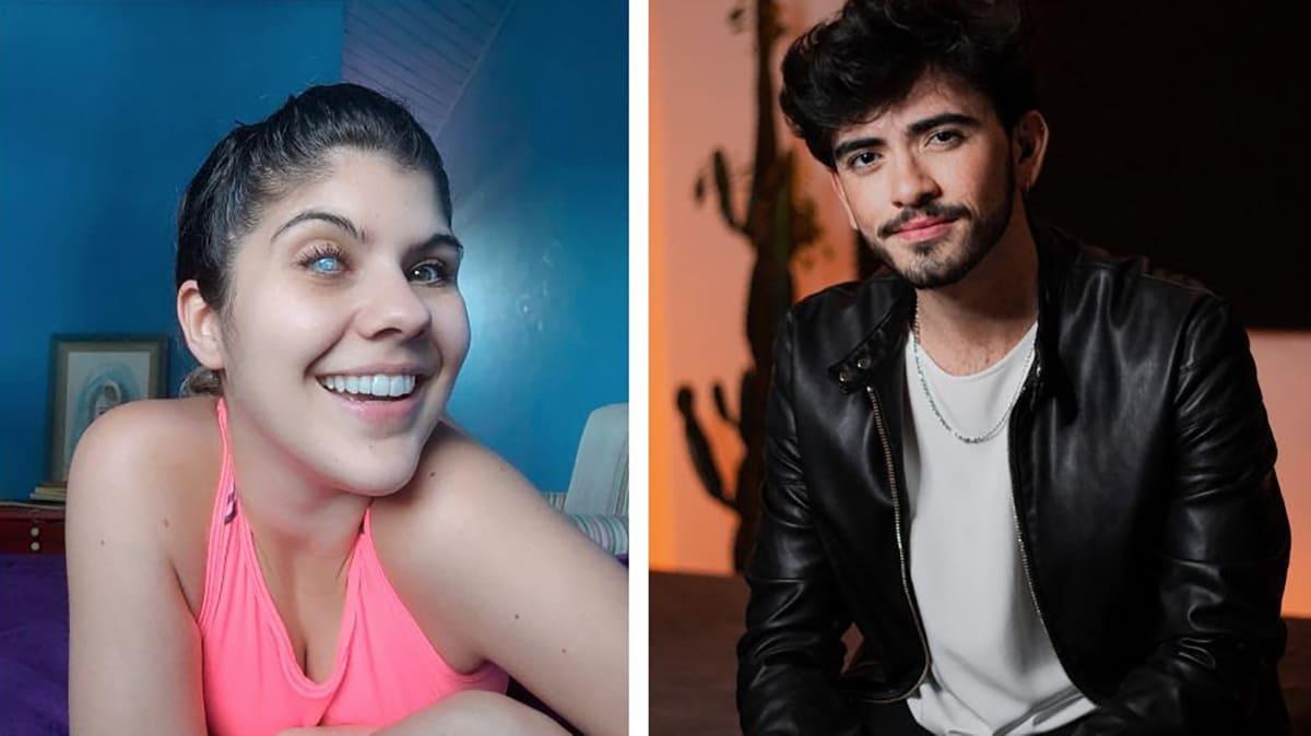 """Imagem de capa para o texto """"Suvinil aborda acessibilidade e inclusão digital na loja online e redes sociais"""" é uma montagem com duas fotografias, dos influenciadores PcD Isa Meirelles e Gabriel Isaac."""