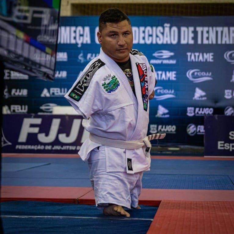 Juninho Cabral Selecao Brasileira de Jiu Jitsu Paradesportivo
