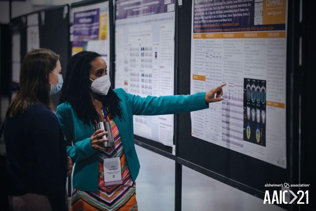 Participantes da AAIC de 2021, com destaque para a relação do Alzheimer e a COVID-19.