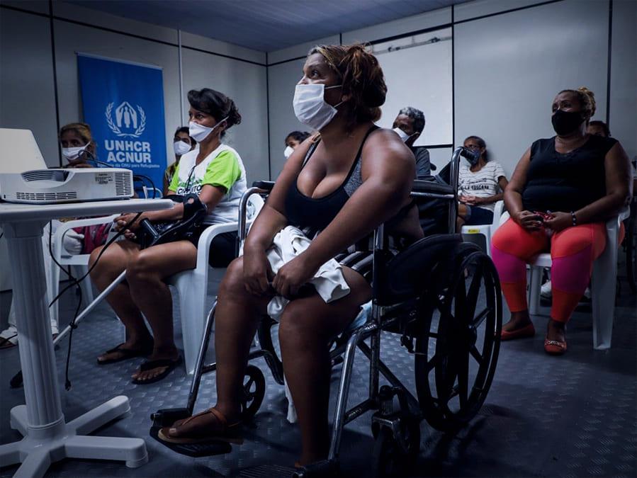 Refugiadas Venezuela Jornalista Inclusivo ACNUR Gabo Morales
